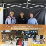Adidas-Hans Ruprecht, Clemens Mulokozi, Dr. Niclas Krauss Präsident Vertrieb BRIEF Süd