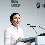 BMW CRE8 Vorständin Frau Andree